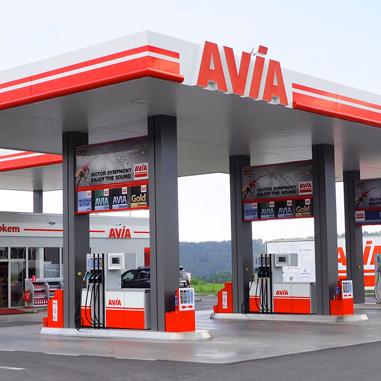 брандиране на бензностанции Авиа