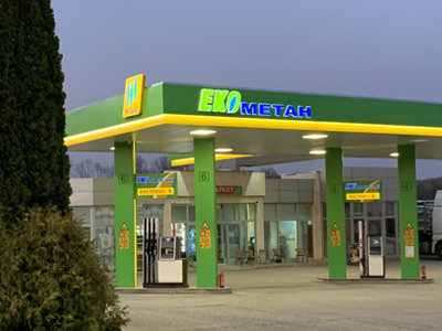 Full branding of other PETROL STATIONS