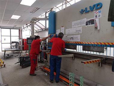 Abcant hidraulic – CNC LVD